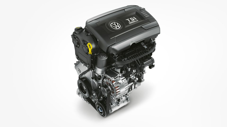 2018 Golf R Engine